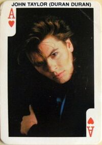 Rock 'n bubble bubble gum card norway wikipedia duran duran john taylor dandy.JPG