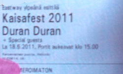 Ticket kaisafest 2011 duran duran.png