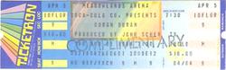 Meadowlands arena duran duran APRIL 5, 1984 East Rutherford, NJ, USA ticket.png