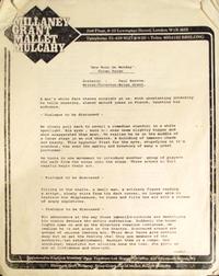 1 Duran Duran Video Screenplay Script 1983 Rare 'New Moon on Monday' duran collectible.png