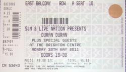 Brighton ticket duran duran.png