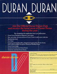 ORDER FORM 1983 DURAN DURAN WIKIPEDIA FAN CLUB.JPG