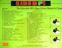 Clash of the 80's The Ultimate 80's New Wave Megamix Party duran duran duran.png
