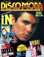 IN DISCOMODA - RARE GREEK MAGAZINE 1985 - DURAN DURAN, DAVID BOWIE, MICK JAGGER wikipedia.JPG