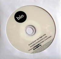 Duran Duran One night only Australian premiere first on bio documentary DVD promotional.png