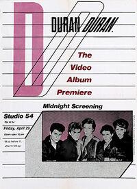 The video screening flyer studio 54 new york duran duran discography music com wikipedia.jpg