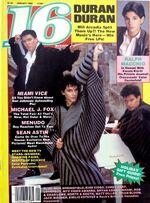 16 Magazine wikipedia January 1986 Ralph Macchio, Duran Duran, Michale J. Fox.JPG
