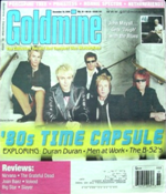 December 18, 2009 issue of Goldmine record collector's magazine with duran duran.png