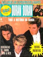 DURAN DURAN - Bizz Special Magazine - Brazil 1987 wikipedia.JPG