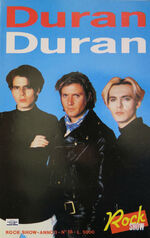Rock show book italy wings Printed in Italy 1988 79 pages duran duran wikipedia.jpg