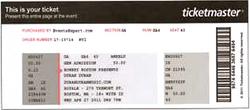 Duran duran ticket boston 27 april.png