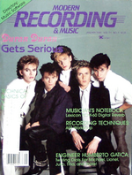 Modern recording & music magazine Vol.11 No 1 January 1985 duran duran duran.png