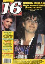 16 magazine november 85 duran duran michael j fox look at sticket stubs discogs wiki.jpg