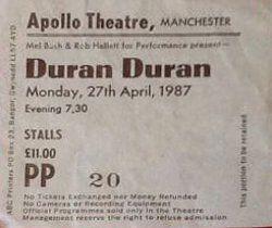 Apollo theatre manchester wikipedia ticket stub duran duran.JPG