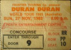 Perth ticket duran duran 27 november 1983.png
