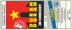 DURAN DURAN a ticket stub Eintrittskarte - Duran Duran - 9. Mai 1987 - Frankfurt - Festhalle.png