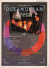 Arena advert wikipedia video duran duran album.jpg