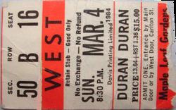 Ticket duran duran toronto 4 march 1984.png