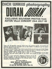 Dick wallis photography wikipedia duran duran aston villa mencap paper gods album advert.jpg