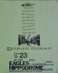 Eagles hippodrome duran duran 1982 seattle usa.jpg