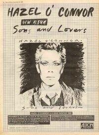 Hazel o'connor tour album poster 1980.jpg