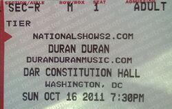 Ticket DAR CONSTITUTION HALL WASHINGTON DC DURAN DURAN.jpg