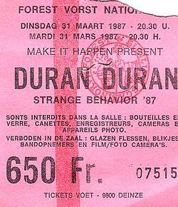 Duran duran ticket belgium 1987-03-31 ticket.jpg