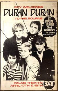 Ad 2 Palais Theatre, Melbourne, Australia wikipedia duran duran 1982.png