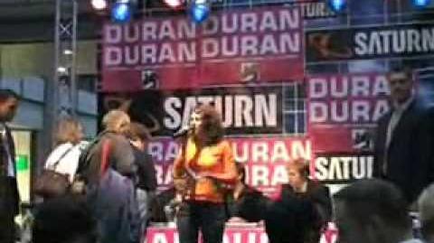 Duran Duran in Berlin Saturn Record Signing 02.10.2004
