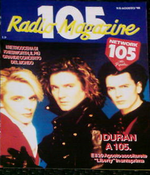 105 radio magazine italy duran duran.png