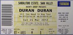 Duran Duran Tickets PERTH Sandalford Estate Sat 24th March wikipedia.png