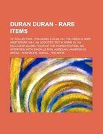 Duran Duran - Rare Items book wiki.jpg