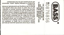 Ticket ticketmaster website david bowie duran duran Molson CNE Stadium, Toronto, ON (Canada) - 24 August 1987 discogs wiki look at stubs com.png