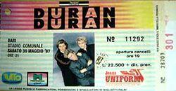 Ticket DURAN DURAN 1987-05-30 ticket.jpg