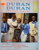 Duran duran 1985 poster magazine wikipedia aston villa scarfs mencap show villa park birmingham.JPG