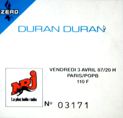 Ticket duran duran 3 april 1987 france 1.png