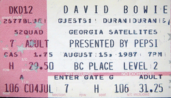 DAVID BOWIE- THE GLASS SPIDER TOUR 1987 DURAN DURAN and GEORGIA SATELLITES LIVE IN VANCOUVER AT BC PLACE STADIUM ON AUG. 15, 1987 wikipedia.png
