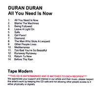 All you need is now duran DURAN album.png
