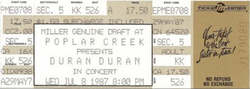 TICKET Poplar Creek Music Theatre, Hoffman Estates, Chicago, IL (USA) - 8 July 1 DURAN DURAN WIKIPEDIA.png
