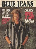 Blue Jeans Magazine 25 May 1985 No. 436 Simon Le Bon Limahl wikipedia duran duran.JPG