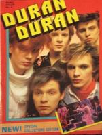 1983 Duran Duran A4 Special Collectors Magazine No2.png