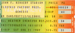 Philadelphia PA (USA), JFK Stadium genesis blondie duran duran ticket stub wikipedia.jpg