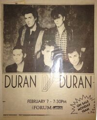 The Forum, Los Angeles, CA, USA wikipedia duran duran collection archive poster.JPG