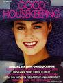 Yasmin le bon good house keeping magazine april 1984