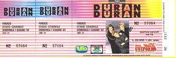 Look at stubs ticket duran duran Stadio Comunale, Firenze (Florence), Italy concert 1987.jpg