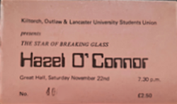 -Lancaster (England) Lancaster University wikipedia duran duran hazel o'connor ticket stub.png