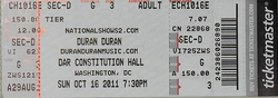 Ticket washinghton dc usa concert show tour dates duran duran discogs wiki.png