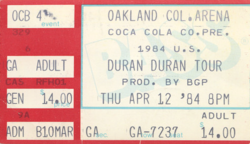 Duran duran ticket 12 april 84.png