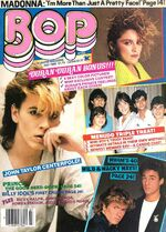 BoP TeeN Magazine MADONNA BILLY IDOL DURAN DURAN MENUDO PRINCE RICK SCHRODER WoW wikipedia discography.JPG