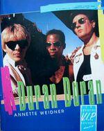 Annette weidner Duran Duran V.I.P Sonderausgabe 1993 paperback series book germany wikipedia author.jpg